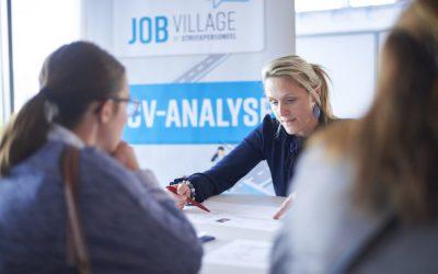 Laat je cv analyseren op JobVillage